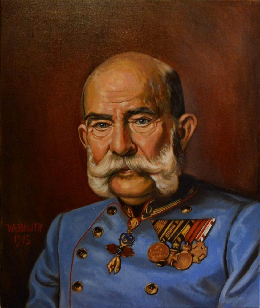 portrét Františka Josefa II.
