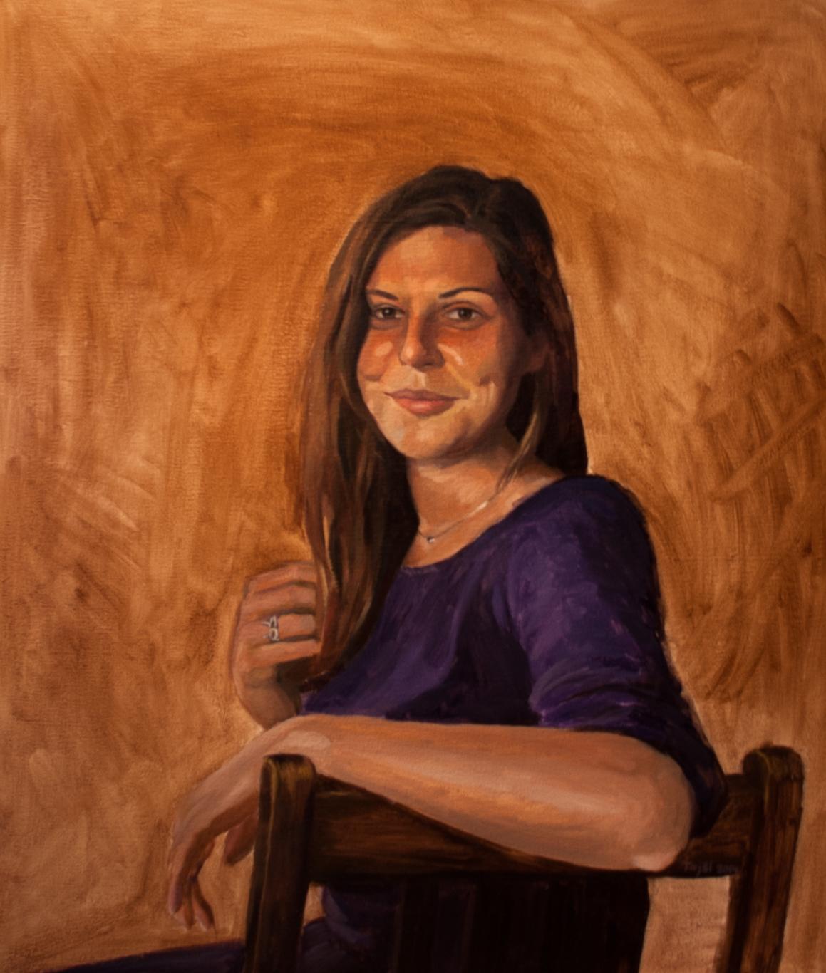 portrét Agaty