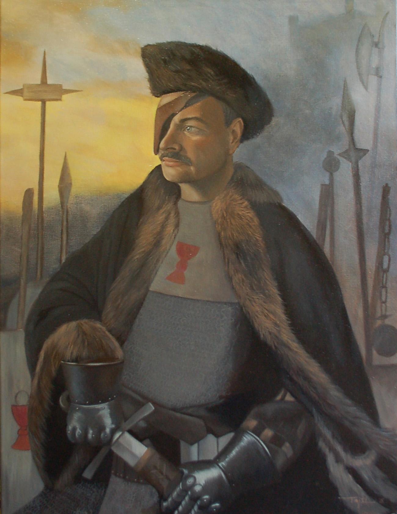 portrét ala žižka